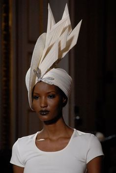 """There's a technicality to designing and wearing hats. A hat is balancing the proportions of your face; it's like architecture or mathematics."" - - - Philip Treacy. www.kerlagons.com"