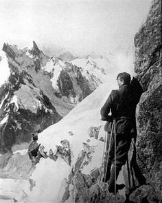 George Mallory died just 800 feet from the summit of Mt. Everest, June 8 1924. He was the first to come so far...and may have been the first to summit. It would have meant that he had somehow, successfully free-climbed the frightful Second Step. No one will ever know if he did. But, before he left home, he made a solemn promise to his wife, Ruth, to leave her picture at summit. When his body was discovered 75 years later, all his possessions were accounted for. All, but his picture of Ruth.