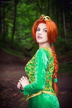 "kamikame-cosplay: ""Princess Fiona from Shrek Cosplayer: Evgenia Galkina Photographer: Photographer Eva ""  The hottest cosplay around!"