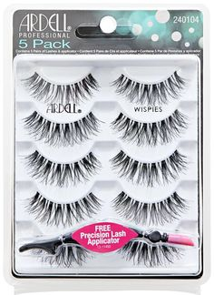 Shop for a of Black Wispies from Ardell at Sally Beauty. Get a natural look to accessorize your eyes and instantly get beautiful, long luscious lashes. Wispy Eyelashes, Ardell Eyelashes, Best Fake Eyelashes, Best Lashes, Best Drugstore Lashes, Sally Beauty, Colorful Eyeshadow, Morphe, Beauty