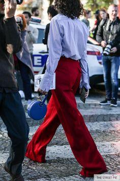 Outside Chanel / Paris Fashion Week SS18