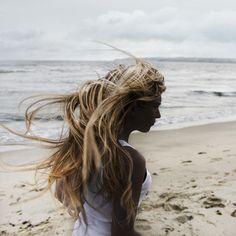 Beach hair :Hair Style Ideas #IdeasForHair #SummerHair