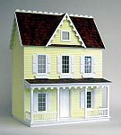 Thinking of getting this for Little S's b'day... The Little Dollhouse Company is crazy cool & has every possible detail you might want to add to your house... even tiny cupcake sleeves & super tiny fish!