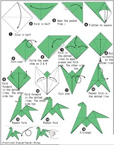 Check out the link for more information on Origami . Check out the link for more information on Origami Origami Horse, Instruções Origami, Cute Origami, Kids Origami, Origami Dragon, Origami Fish, Origami Folding, Paper Crafts Origami, Origami Flowers