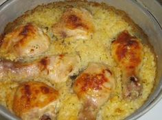 Pečené kura s ryžou a smotanou z jedného pekáča (fotorecept) - obrázok 5 Mashed Potatoes, Ethnic Recipes, Whipped Potatoes, Smash Potatoes