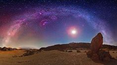 El Teide night sky. Islas Canarias. Seen in @Felipe Morales