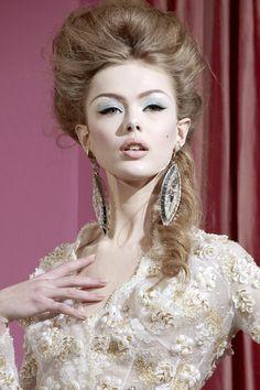 fashionsprose:  Frida Gustavsson. Dior Couture Spring 2010. Details.