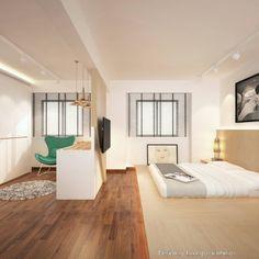 Master Bedroom Hdb dawson, industrial hdb, master bedroom | bedroom goals | pinterest