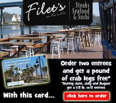 Have you eaten at Filet's on the Waterfront