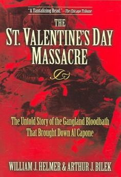 The St. Valentine's Day Massacre (BOOK)--Machine-gun murders of 7 men on the morning of February 14, 1929, by killers dressed as cops became the gangland crime of the century. Since then it has been featured in countless histories, biographies, movies, & television specials. 'The St. Valentine's Day Massacre, ' however, is the first book-length treatment of the subject, and it challenges the commonly held assumption that Al Capone ordered the slayings to gain supremacy in the Chicago…