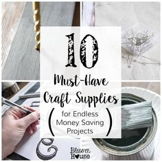 10 Must-Have Craft S
