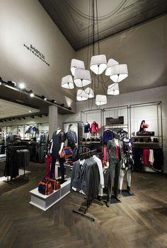 Mexx Metropolitan store, Gent   Belgium store design
