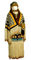 Alaskan Native Artists Roseanne's Comment:  Tlingit or Haida??? but what a lovely doll!