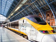 Great Britain may not be included in the Eurail Pass, but it's a popular starting point for your European rail trip. Take the Eurostar from London to Paris. Ways To Travel, Packing Tips For Travel, Travel Essentials, Travel Guides, Train Route, By Train, Grand Canyon, Sites Touristiques, Trains