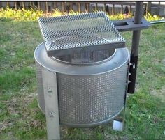 This example is very cool, it's also an awesome way to repurpose a broken old washing machine. That said a friend of mine tried removing the drum from his broken washing machine and he gave up as it was just too much work to get it.. It does show what you can achieve with a …