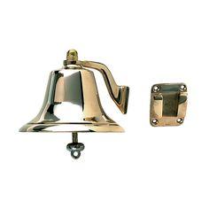 "Perko Polished Bronze Fog Bell - 8"" - https://www.boatpartsforless.com/shop/perko-polished-bronze-fog-bell-8/"