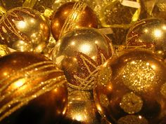 Gold ornaments are the best