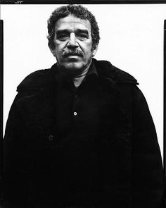 Gabriel Garcia Marquez, Writer, New York City  Richard Avedon  (American, New York City 1923–2004 San Antonio, Texas) Love this storyteller. One hundred years of solitude for me is a neverending book. I'm always reading it again. A story how to celebrate life and see the magic despite all sorrow and grief
