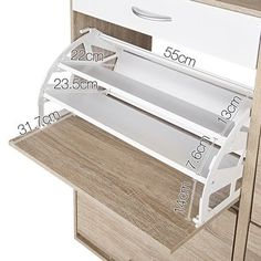4 Part Shoe Cabinet Tower by Dwell Home. Get it now or find more Shoe Cabinets at Temple & Webster. Shoe Cabinet Design, Shoe Storage Design, Rack Design, Store Design, Shoe Storage Drawers, Closet Shoe Storage, Shoe Racks, Shoe Cupboard, Ikea Shoe Cabinet