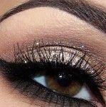 Sparkle eye shadow