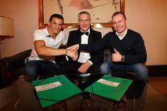 Gut 10 Tage vor seiner großen WM-Chance am 21. März gegen den WBA-Weltmeister Jürgen Brähmer....