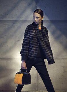 Fendi Fall/Winter 2014-15 Fur Coat