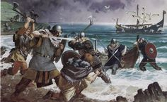Researchers suggested that the Vikings went on raiding because of the shortage of eligible women whom they could marry. Is this Why Vikings raided? Viking Warrior, Irish Warrior, Viking Art, Female Viking, Viking Battle, Warrior Women, Celtic Warriors, Norse Vikings, Norse Mythology