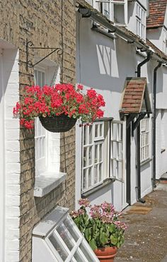 """On another outing, Alexander and Victoria explored Essex - """"not the flat uninteresting part"""" - having coffee at the Rose and Crown in Saffron Walden."""
