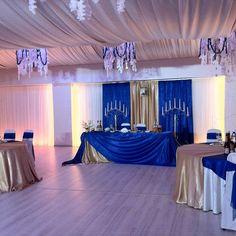 Свадьба в синем цвете – поистине королевский выбор!