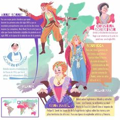 Page finished...i just need to do the rest of the world!............................. Página terminada, ahora solo me falta hacer el resto del mundo!! #illustration #Ilustración #illustrator #ilustrador #atlas #map #uk #Ireland #women #history #mujeres #historia #feminism #feminismo #color #colourful #digital #Photoshop #beautiful