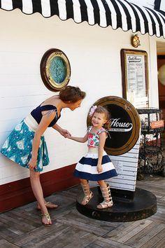 Quinn Misses Skirt & Top - Violette Field Threads  - 1