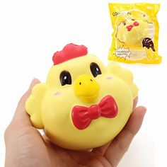 YunXin Squishy Chicken Jumbo 15cm Soft Slow Rising With Packaging Cute Collection Gift Decor Toy