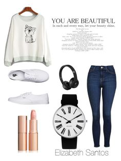 """💕ELISANTS OUTFIT😉"" by elisants on Polyvore featuring Topshop, Vans and Rosendahl"
