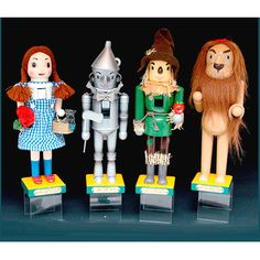 KSA Pack of 8 The Wizard of Oz Decorative Christmas Nutcrackers 14''