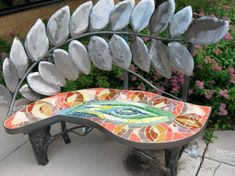 Mosaic Furniture...Out door bench