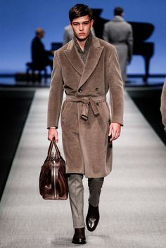 "model-hommes: ""Francisco Lachowski for Canali F/W 2014-15 Milan. """