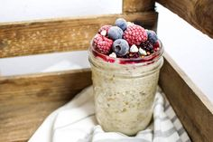Gesundes Bircher Müsli - vegan, rein pflanzlich, ohne raffinierten Zucker, glutenfrei - de.heavenlynnhealthy.com