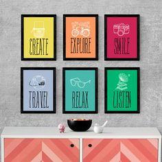 Kits de Quadros Decorativos   Página 1 de 3   Filtrado por Produtos em Destaque