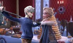 Jack And Elsa olaf's Frozen adventure