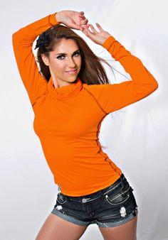 Original Orange Back Snikwah Icon- Front | Sizes: Women's S-XL