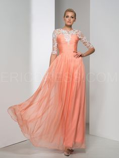 ericdress.com offers high quality Ericdress Half Sleeve Appliques Pleats Evening  Dress Evening Dresses 2015 6c547c410