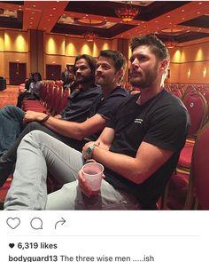 Three wise men..... Ish