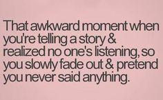 It's sad how often this happens to me