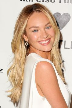 Candice Swanepoel at the Narciso Rodriguez Bottletop launch in NYC