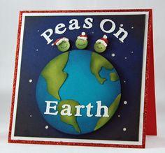 Peas on Earth - too cute!
