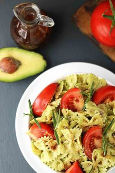Pin for Later: 10 Avocado Pasta Recipes That Are About to Blow Your Guacamole-Loving Mind