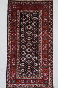 Kurdi Wunderschöner Perser Teppich  Handgeknüpfte alfombra 170 x 100  cm