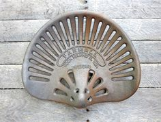 Farmall Tractor Seat ( now just add a horseshoe base!!)