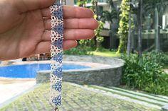 Tatting lace bracelet / doily pdf pattern Scandi Retro