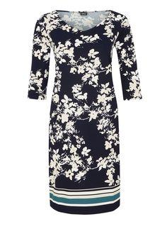 Crêpe-Kleid mitBlumenmuster von s.Oliver. Entdecken Sie jetzt topaktuelle Mode für Damen, Herren und Kinder und bestellen Sie online.